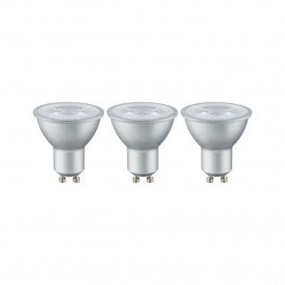 Paulmann LED 3er-Pack Reflektor 4W GU10 230V 2700K