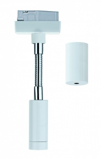 URail System Flex Pendel Adapter Weiß 230V Metall / Kunststoff