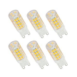 6er Set LED Leuchtmittel 3, 5W G9 4000K Neutralweiss 230V 320lm Klar