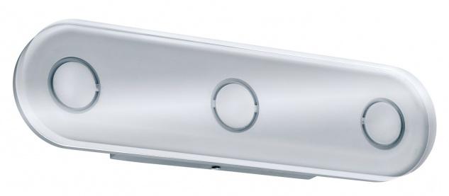 Paulmann WallCeiling rund Theta IP44 LED 1x13, 5W Alu eloxiert/Klar 230V Metall/Acryl