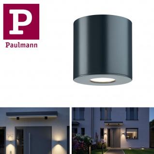Paulmann Aussenleuchte House Aufbauleuchte IP44 ( 600lm 3000K) oder ( 660lm 4000K) 5, 3W 230V 55° Anthrazit Al Acryl