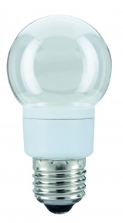 28106.10 Paulmann E27 Fassung LED Tropfen 1W E27 Klar Warmwhite 10 Stück