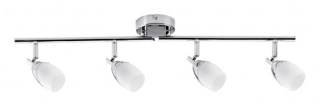 Paulmann Spotlight Yasmin max 4x10W G9 Chrom/Satin 230V Metall/Glas