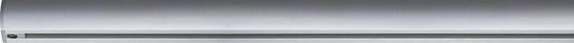 Paulmann URail Schienensystem Light&Easy Schiene 1m Chrom matt 230V Metall