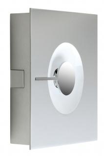 Paulmann 701.23 WallCeiling Alpha 11W LED Warmweiß Chrom matt 230V Metall
