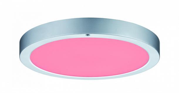 WallCeiling Orbit LED-Panel RGBW 300mm 15W 230V Chrom matt Weiß Kst