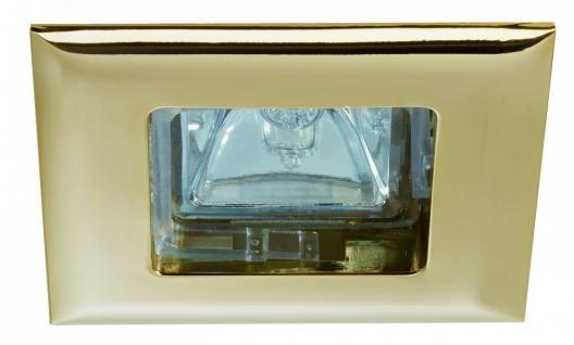 995.74 Paulmann Einbauleuchten Premium EBL Set Quadro 4x35W 150VA 230/12V GU5, 3 68mm Gold/Alu Zink