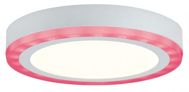 Paulmann WallCeiling Sol RGB LED-Panel 9, 4W+4, 6W 245mm Weiß 230V Alu