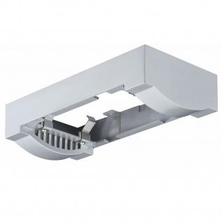 Paulmann 925.15 Premium Aufbauring für Einbauleuchte Linear LED Chrom matt / Alu