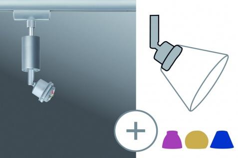 Paulmann URail Schienensystem DecoSystem LED Spot 1x3W Chrom matt 230/12V Metall