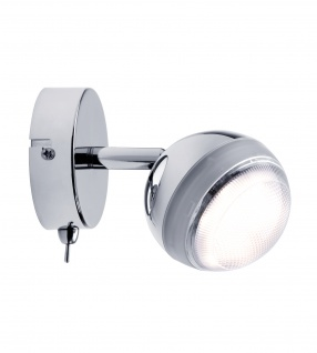 Paulmann 603.59 Spotlight Scoop LED 1x4, 6W Chrom 230V Kunststoff