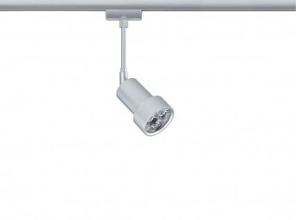 Paulmann 950.37 URail Schienensystem Light&Easy Spot LEDmanz2 1x3W Chrom matt 230V Metall