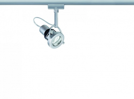 Paulmann 968.59 URail Schienensystem Light&Easy Spot Ring Energiesparlampe 1x11W GU10 Titan 230V Metall