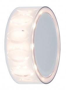 Paulmann 707.20 WallCeiling DecoBeam 3, 5W LED 150mm Weiß matt/Chrom matt/transparent 230V Metall/Acry