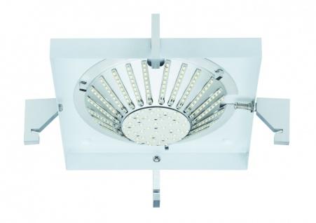 Paulmann 702.98 WallCeiling DS Modern DL Basis Square Schrittschalt 40-100% 12W LED Alu gebürstet 230V