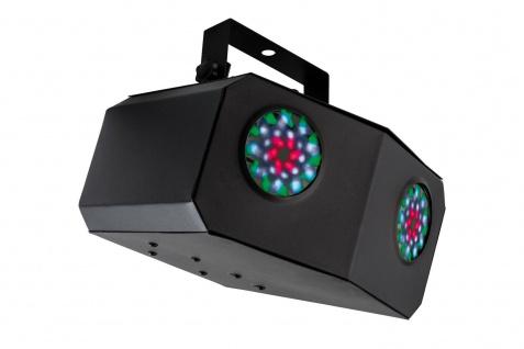 TIP Party LED Double Beam 15W 230V Schwarz - Vorschau 3
