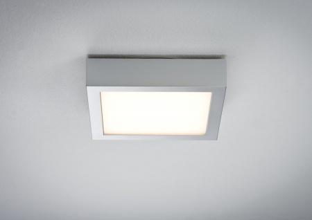Paulmann WallCeiling Space LED-Panel 200x200mm 11W 230V Chrom matt/Weiß Kunststoff - Vorschau 3