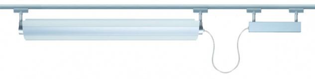 Paulmann 976.72 Schienensystem Light&Easy URail Spot LF-Line 21W G5 Titan 230V Metall