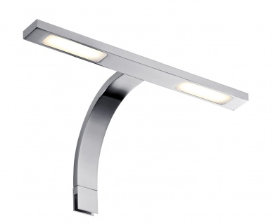 Paulmann Galeria Double Bow LED 2x3, 2W 8VA Chrom 230V Metall