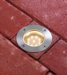 Paulmann 937.89 Special Einbauleuchte Set Boden rund LED 3x1, 2W 2700K 6VA 230/12V 98mm Edelstahl/Metall - Vorschau 4
