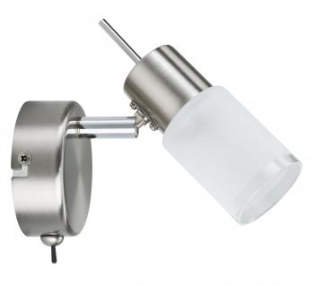 Paulmann 665.58 Spotlights ZyLed Balken 1x3W Eisen gebürstet 230V/12V Metall/Glas
