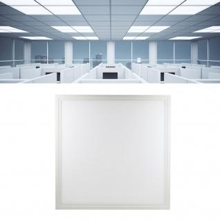 Mili Leuchten - 62x62 cm LED Panel 36W 5000K Tageslichtweiß 4300 Lumen erstzt 430W Licht / Einbau Panel / Sehr effizient / Rasterdecke / Sehr hell