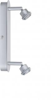 Paulmann 665.39 Spotlights DecoSystems Balken 2x3W Chrom matt 230V/12V Metall