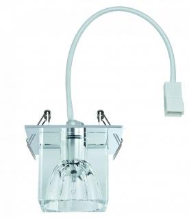 920.17 Paulmann Einbauleuchten Quality EBL Glassy Cube max. 20W 12V G4 83x83mm Klar/Chrom Glas/Metall - Vorschau 4