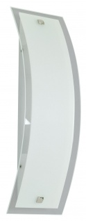Paulmann Living Conero Wandleuchte 120x400mm 1x80W R7s Opal 230V Metall/Glas