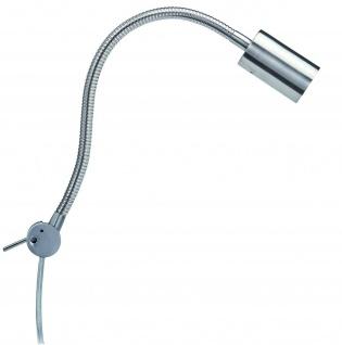 Paulmann Living 2Easy Leseleuchte 1x7W GU10 Energiesparlampe Eisen gebürstet 230V Metall