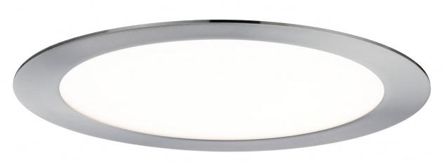 Paulmann Premium Einbauleuchte Set SmartPanel RGBW rund LED 1x3, 5W 12VA 230V/350mA 220mm Eisen gebürstet - Vorschau 2