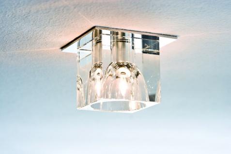 920.17 Paulmann Einbauleuchten Quality EBL Glassy Cube max. 20W 12V G4 83x83mm Klar/Chrom Glas/Metall - Vorschau 5