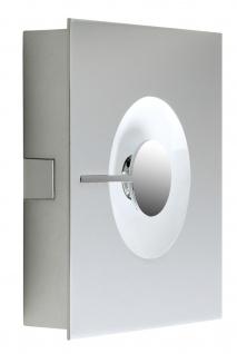 Paulmann WallCeiling Alpha 11W LED Warmweiß Chrom matt 230V Metall