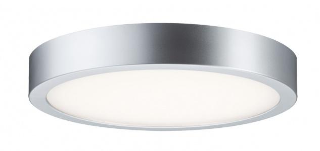 Paulmann WallCeiling Orbit LED-Panel 300mm 16, 5W 230V Chrom matt/Weiß Kunststoff