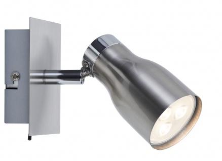Paulmann Spotlights MeliLED Balken 1x3, 5W GU10 230V Nickel satiniert Metall