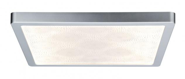 Paulmann 706.89 WallCeiling Ivy LED-Panel IP44 380x380mm 20W 230V Chrom matt/Kunststoff