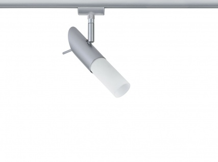 Paulmann URail Schienensystem Light&Easy Spot Pherus 1x9W E14 Chrom matt 230V Metall