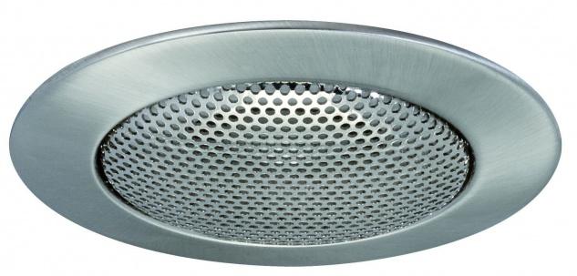 Paulmann 986.74 Premium Einbauleuchte Lautsprecher 51mm Eisen gebürstet/Alu Zink