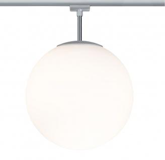 Paulmann URail Ceiling Globe Big max. 1x20W E27 Chrom matt/Opal 230V Metall/Glas dimmbar