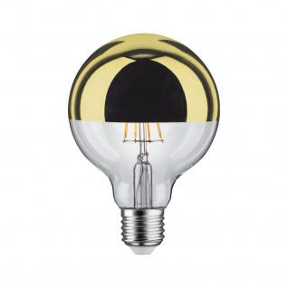 Paulmann LED Globe 95 5W E27 230V Kopfspiegel Gold 2700K dimmbar