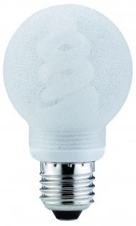 Paulmann Energiesparlampe Globe 60 7W E27 Eiskristall