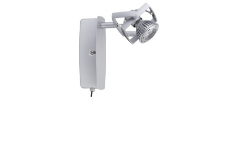 665.44 Paulmann Spotlights Mac² LED Balken 1x1W GU5, 3 Chrom matt 230/12V Metall/Plastik