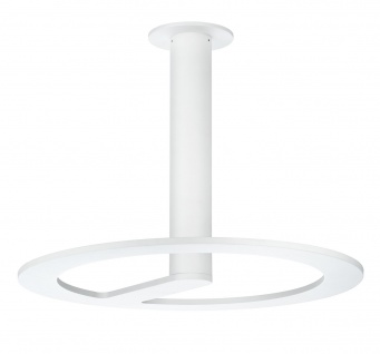 Paulmann 70496 LED Deckenleuchte Portilla IP44 weiß 42W 3350 Lumen