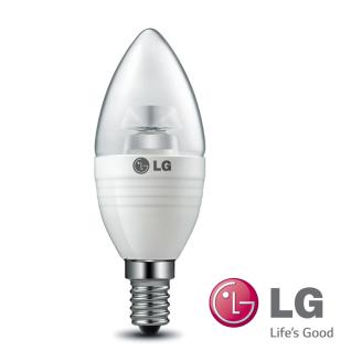 LG LED Leuchtmittel Kerze 150Lumen 2, 7W 2700K Warm Weiß