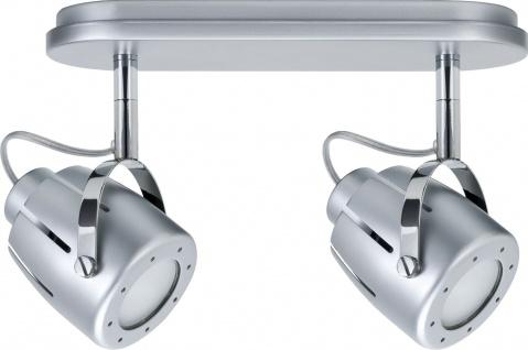 Paulmann Spotlights Mega Balken 2x11W GU10 Chrom matt 230V Metall