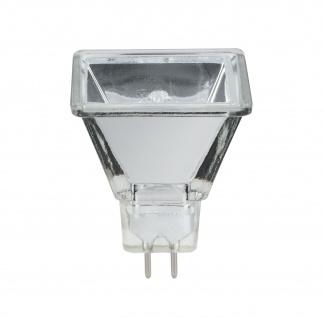 Halogen Reflektor Quadro flood 75° 20W GU5, 3 12V 37mm Silber