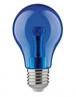 Paulmann LED Glühlampe 1, 5W E27 230V Blau