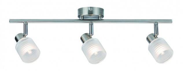 Paulmann 602.00 Spotlight Helix 3x2, 2W G9 Nickel gebürstet 230V Metall