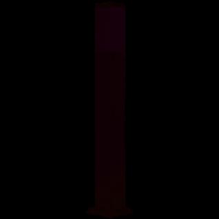 ibv Wegeleuchte Edelstahl mit 2 Steckdosen oder Wahlweise Dämmerungssensor LED Leuchtmittel 5 W 400 Lumen 3000K