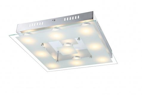 9102.09.01.0000 Wofi Deckenlampe Sphinx LED Deckenleuchte 9 x 5 W 3.000 K 3.780 lm Chrom